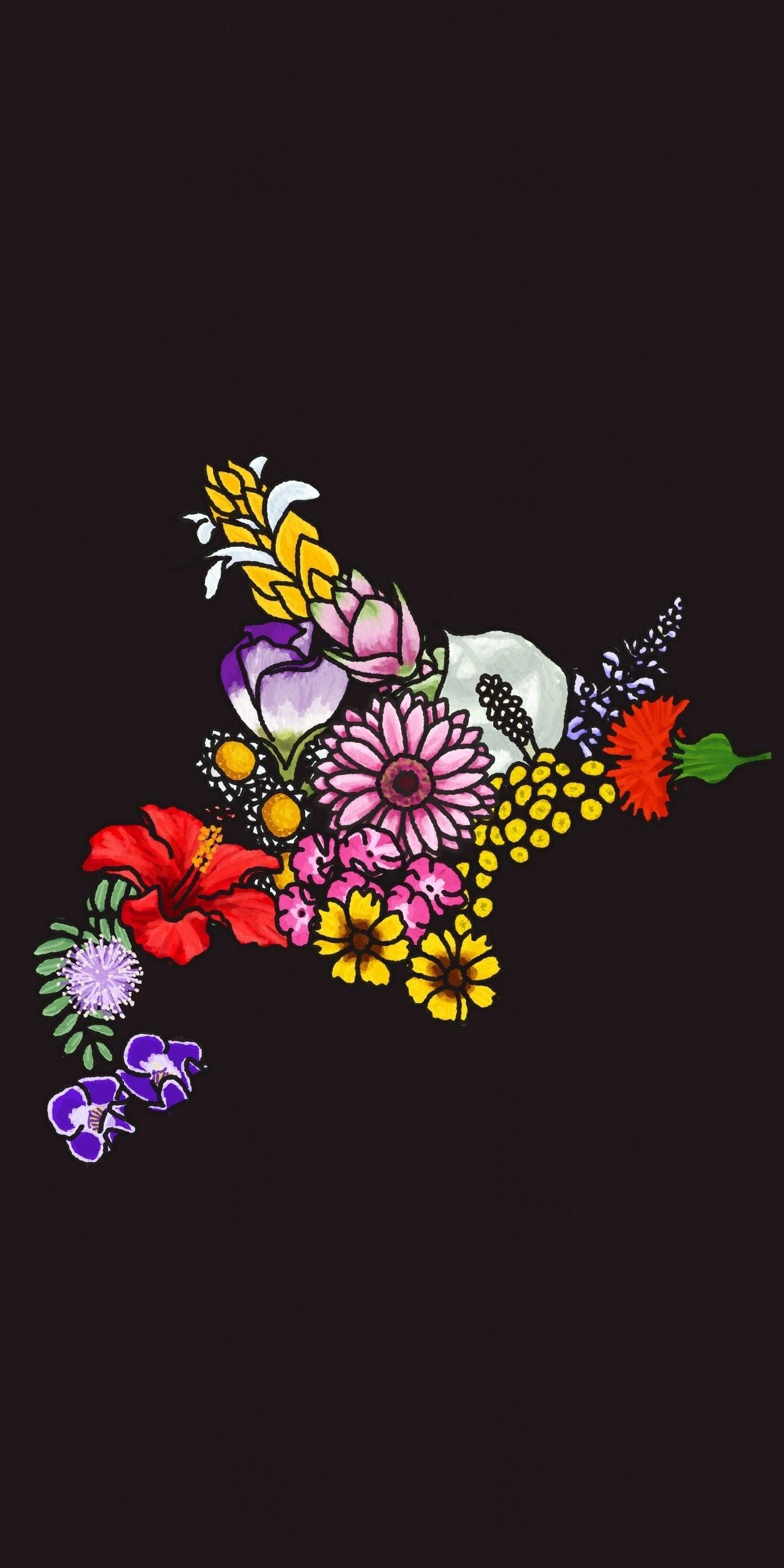 お花の壁紙 9月 タロアウト キャラクターアーティスト Note