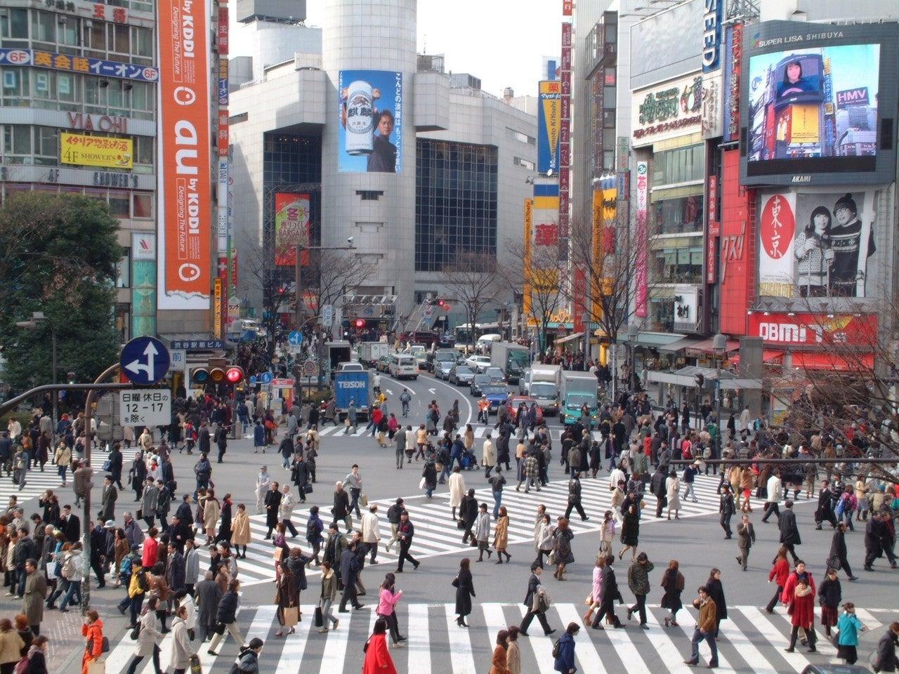 渋谷 スクランブル 交差点 カメラ