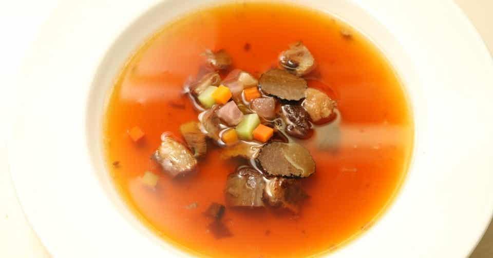 スープ 本家 の ウミガメ