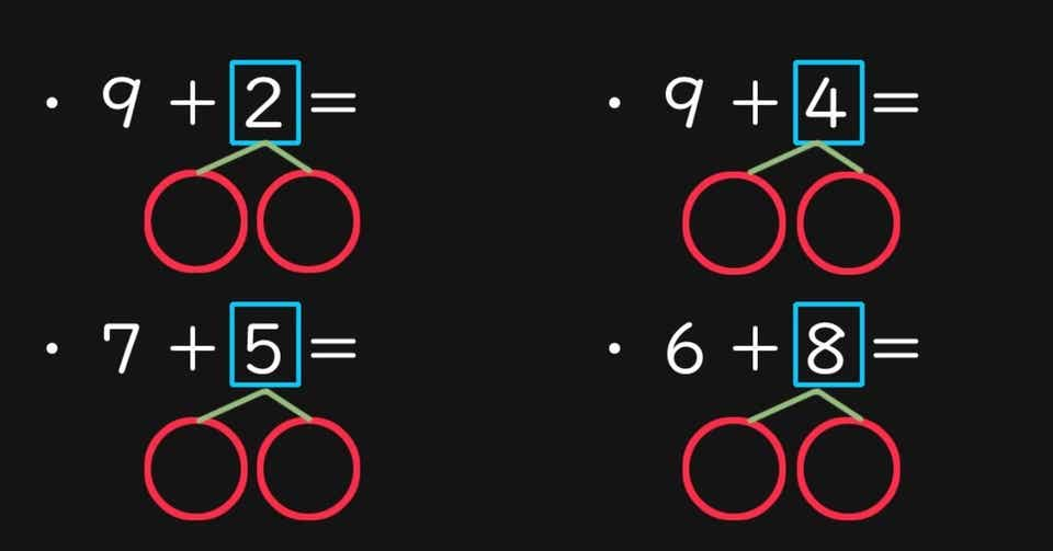 算数の計算足し算編4寿限無note