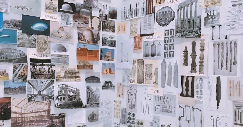 建築家の田根剛さんの展示を見てプロセスに驚いた話|hiroseminami|note