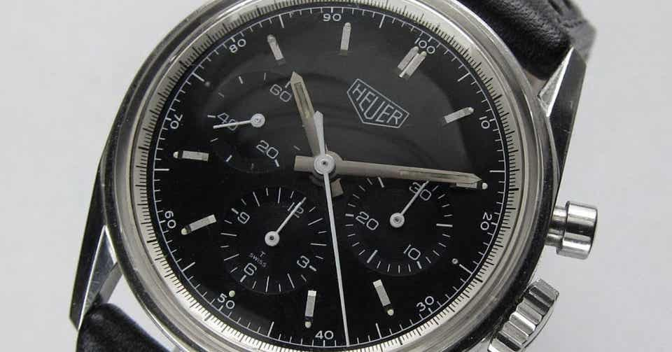 reputable site b49aa 9f3fa HEUER CARRERA 1964 RE-EDITION / CS3111|Bran|note