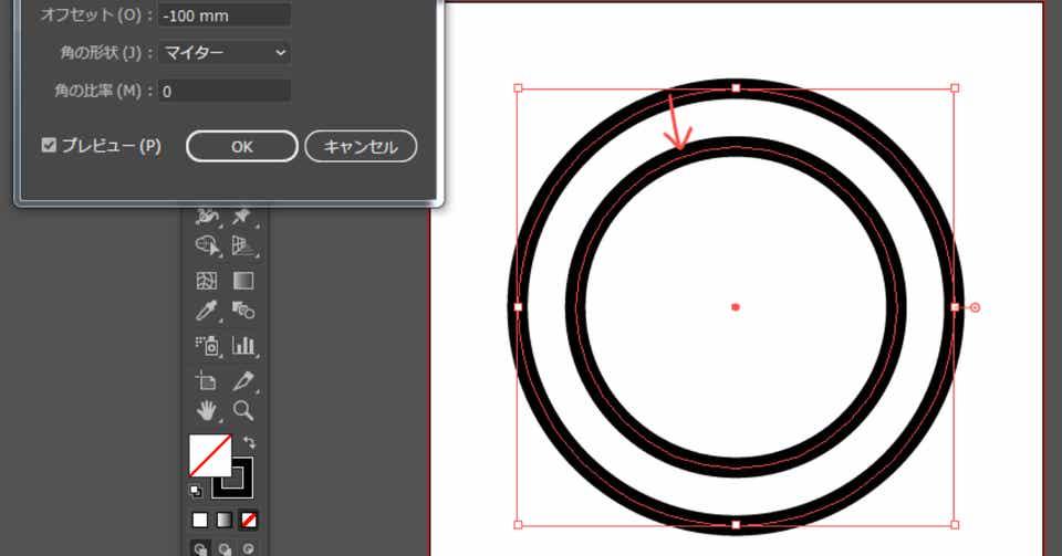 Illustratorで二重丸を30秒でつくる方法|Kさん|note